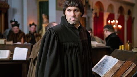 Max Simonischeck überzeugt im Film von Stefan Haupt als Zwingli. (Bild: pd)