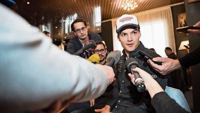 Loïc Meillard: «Ich bin noch nie mit so viel Selbstvertrauen nach Adelboden gekommen»