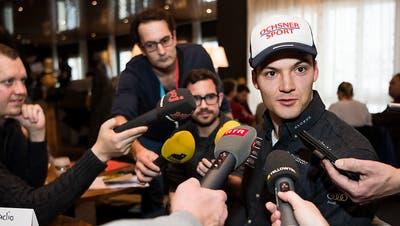 Ein kurzer Weg zum Skifest: Loïc Meillard über Adelboden, Druck und das Schweizer Dream-Team