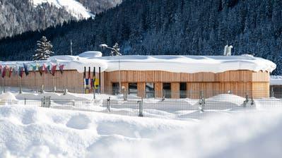 Das Kongresszentrum Davos, in dem das WEF stattfindet. (Bild: Keystone, 15. Januar 2019)