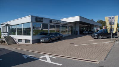 Die Amag übernimmt ab März den Standort des Autocenter Lustenberger in Beromünster, welches Ende 2018 den Betrieb einstellte. (Bild: Boris Bürgisser (Beromünster, 12. Oktober 2018))