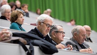 Bereits 4000 Mitglieder: Die Seniorenuni ist beliebt wie nie