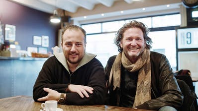 Mario Waldispühl (links) und Sylvan Müller: Dieses Duo übernimmt ab März die Jazzkantine Luzern. (Bild: pd)