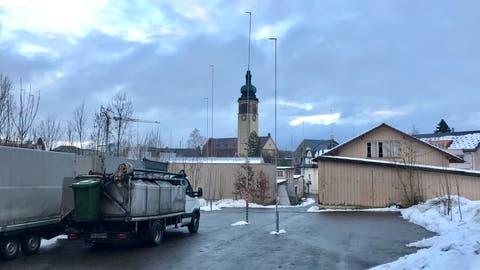 Das Baugrundstück gehört der Uze AG, einem Schwesterunternehmen der Bühler AG, welche hier einst produziert hatte. (Bild: Andrea Häusler)