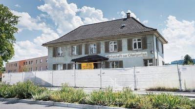 Noch im Februar könnte die Sanierung der maroden Obstgarten-Liegenschaft in Frauenfeld starten