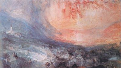 Ein Gemälde von William Turner. Bild: PD