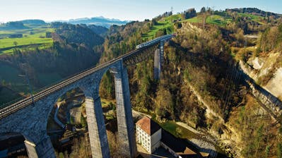 SOB hat Pläne für Sitterviadukt und Sturzeneggtunnel: Die Rekordbrücke muss saniert werden