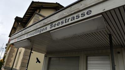 Der Zoll an der Seestrasse in Kreuzlingen.