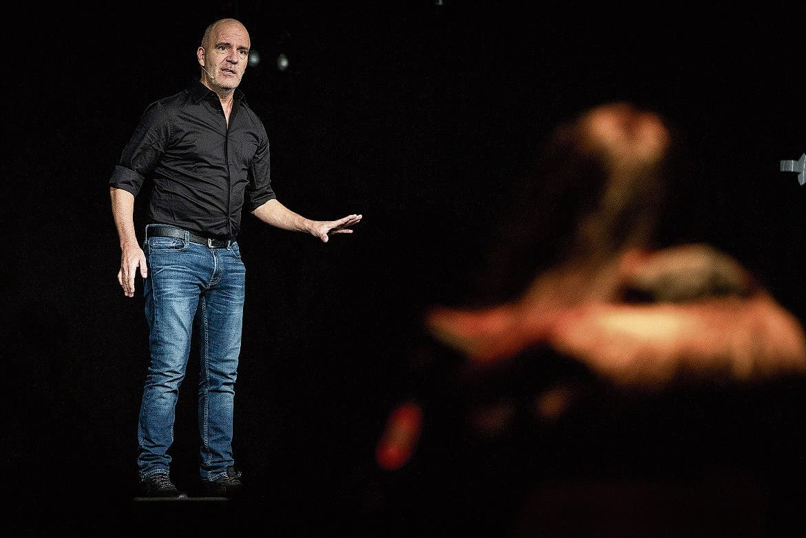 Feuerprobe in der Kulturfabrik «Kiff»: Bringt der Comedian die Leute zum Lachen?