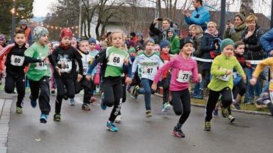 Am Eschlikoner Silvesterlauf fallen die Rekorde grad reihenweise