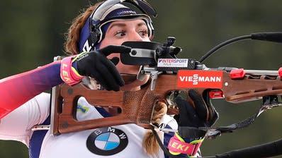 Lena Häcki überzeugt in Ruhpolding als Fünfte