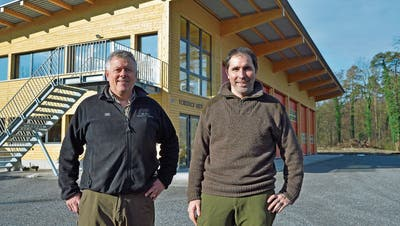 Die Revierförster ziehen in ihren neuen Forsthof in Weinfelden ein