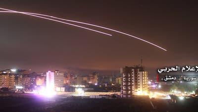 Israel greift erneut iranische Ziele in Syrien an