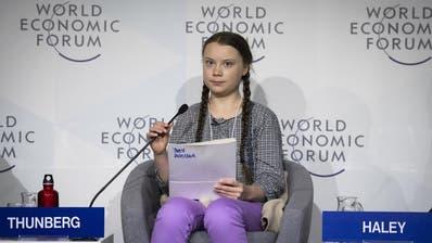 16-jährige Klimaaktivistin redet den Mächtigen am WEF ins Gewissen: «Ich will, dass ihr in Panik geratet»