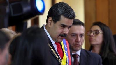 Kraftprobe in Venezuela: Präsident Maduro will reden