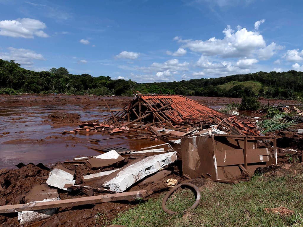 Schlammlawine Brasilien