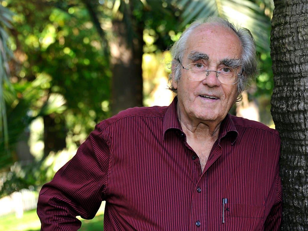 Der verstorbene französische Filmkomponist Michel Legrand wurde unter anderem durch die Filmmusik zu «Die Regenschirme von Cherbourg» und «Yentl» bekannt. (Bild: KEYSTONE/EPA/BRUNO BEBERT)