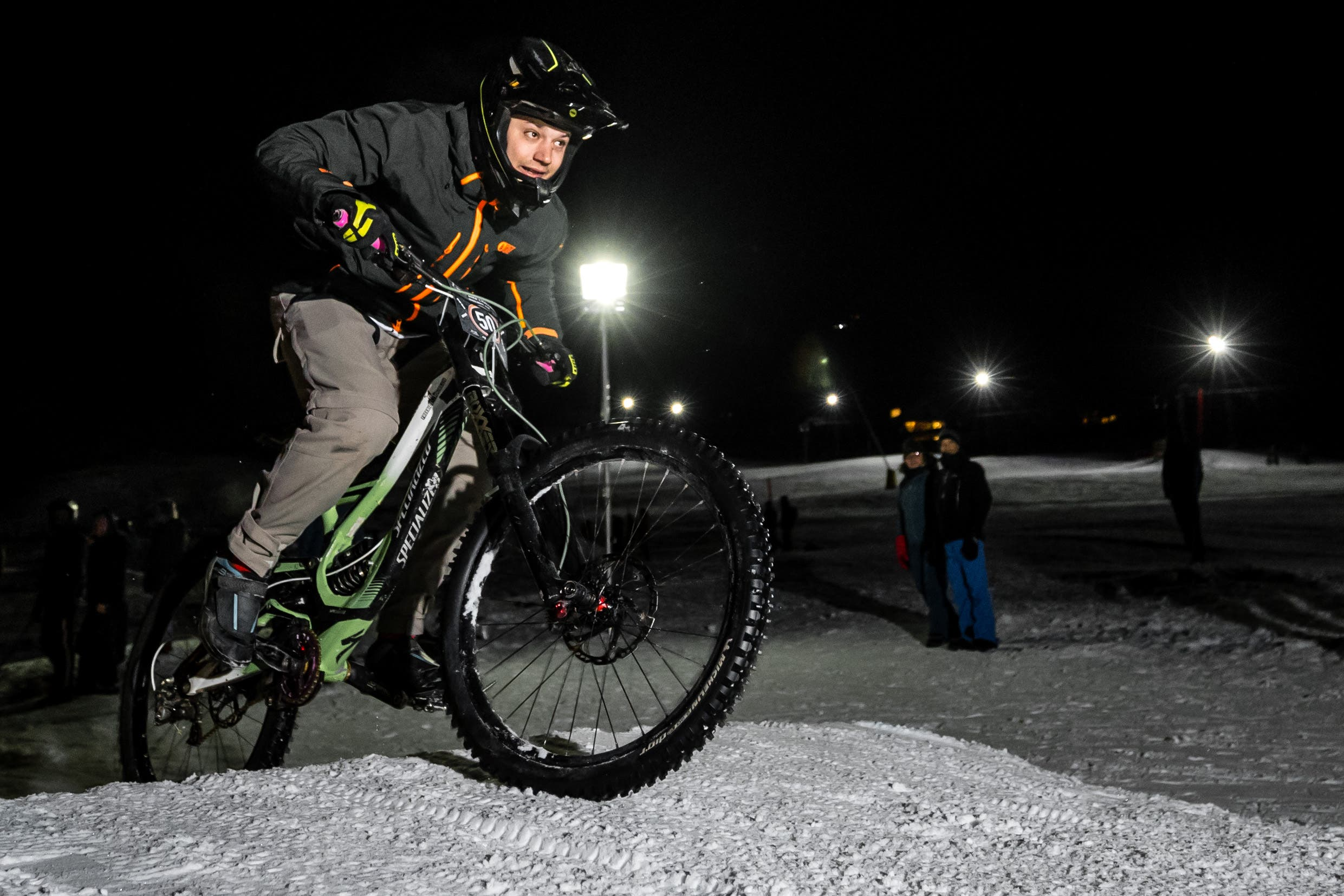 Der Anlass wurde vom Bikeclub Engelberg organisiert. (Bild: Philipp Schmidli, Engelberg, 26. Januar 2019)