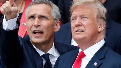 Trumps Forderungen nach höheren Nato-Militärausgaben zeigen Wirkung