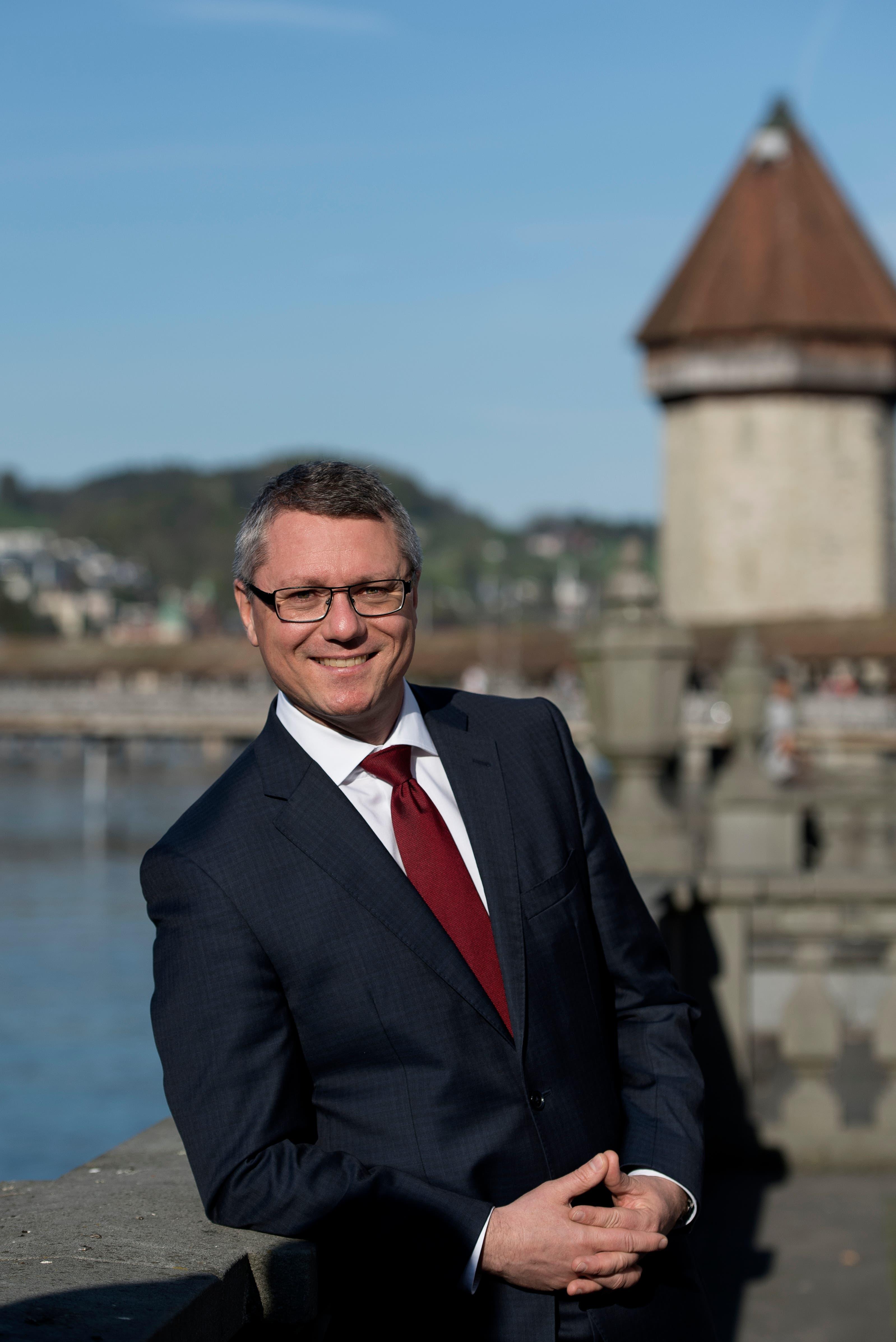 Jörg Meyer (SP). (Bild: Corinne Glanzmann, Luzern 18. April 2018)