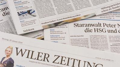 St.Galler Gemeinden verzichten auf Zeitung