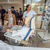 Die Individuelle Prämienverbilligung entlastet die Patienten: Tag der offenen Tür im Spital Münsterlingen. (Bild: Reto Martin, 9. Mai 2015)