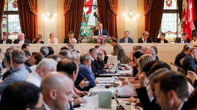 Sitzung des Grossen Rates des Kantons Thurgau in Frauenfeld. (Bild: Donato Caspari)
