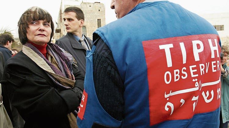 Israel wirft Schweiz Beobachter raus