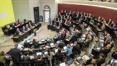 Der Luzerner Kantonsrat an seiner Januar-Sitzung. (Bild: Nadia Schärli (Luzern, 28. Januar 2019))