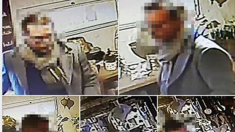 Mit diesem Facebook-Post sucht die Ladeninhaberin nach dem Mann. Sein Gesicht wurde nachträglich von der Redaktion verpixelt. (Bild: Screenshot/Facebook)