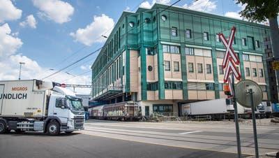 Die Betriebszentrale der Migros Ostschweiz in Gossau. (Bild: Ralph Ribi (17. Juli 2018))
