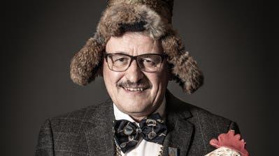 Ruedi Gantenbein ist Zunftmeister der Güüggali Zunft Luzern