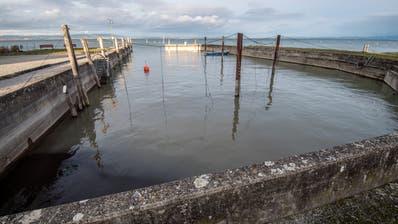 Der bestehende Hafen soll in Privatbesitz bleiben. (Bild: Reto Martin)