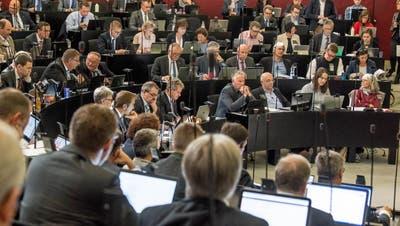 Der Luzerner Kantonsratssaal. (Bild: Nadia Schärli)