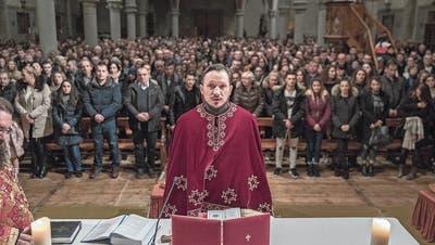 Serben in der Ostschweiz: Orthodoxe feiern in Rorschach Heiligabend mit hohen Geistlichen