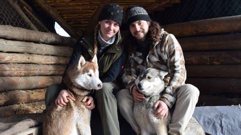 Von Oberbüren nach Lappland: Mit zwölf Huskys zurück zur Natur