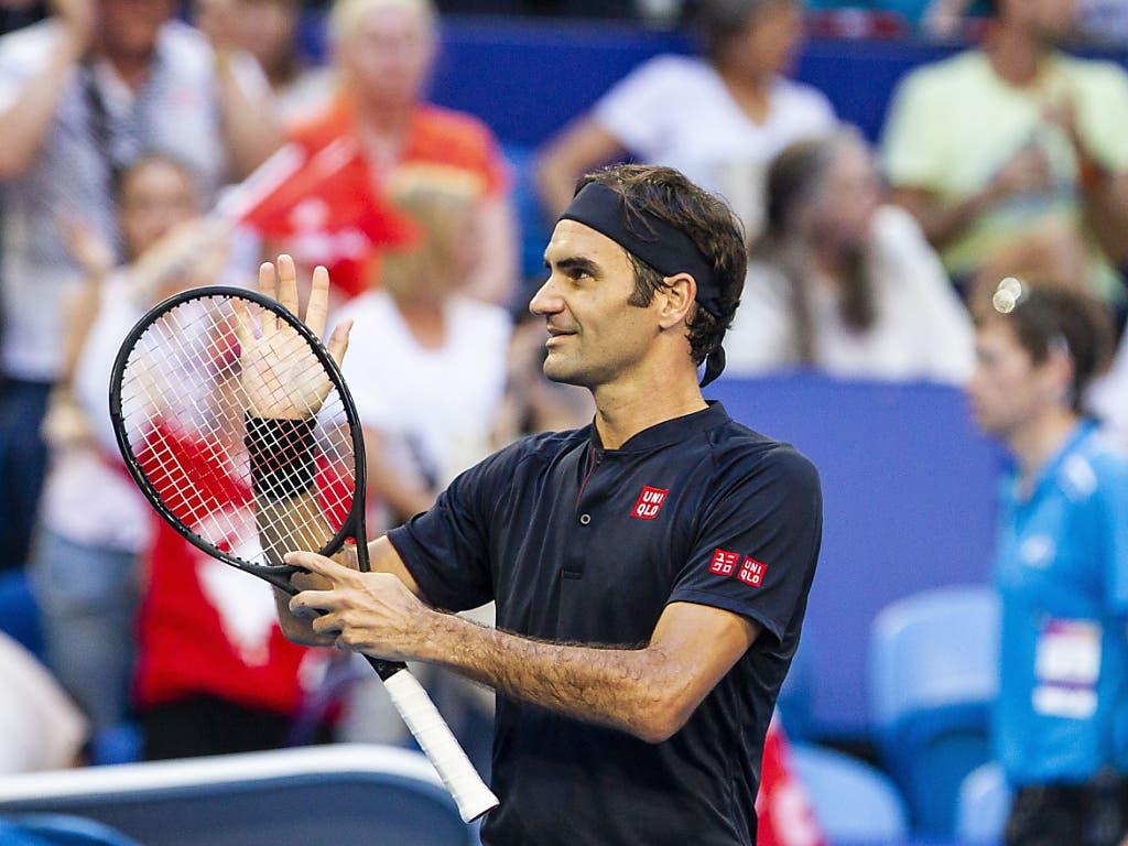 Roger Federer liess sich auch von Alexander Zverev nicht stoppen (Bild: KEYSTONE/EPA AAP/TONY MCDONOUGH)