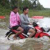 Tropensturm über Thailand vorbei - Keine grösseren Schäden