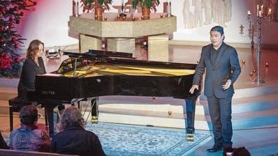 Startenor bereitet sich in St.Gallen auf Konzert in der Hamburger Elbphilharmonie vor