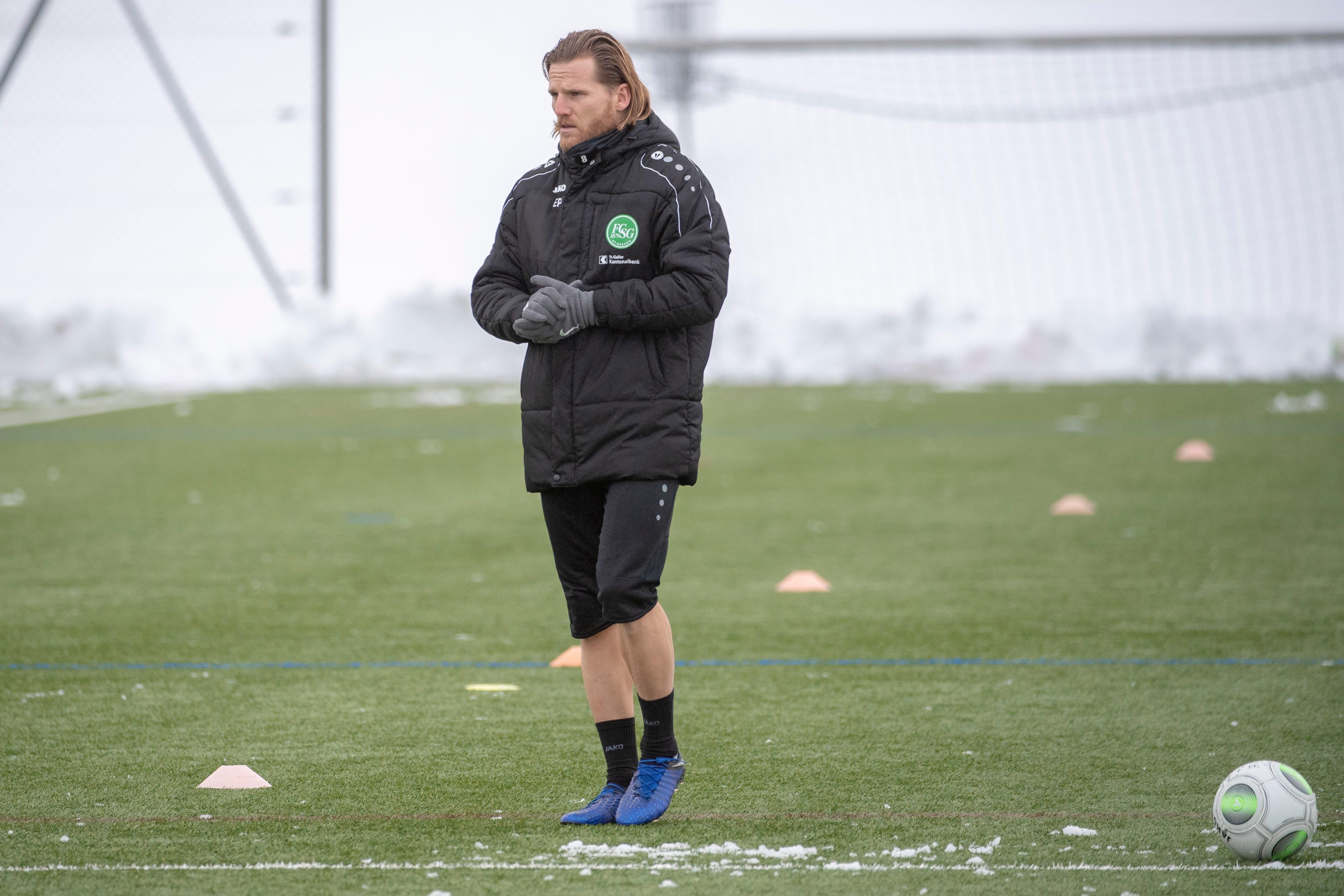 Der neue FCSG-Assistenztrainer: Eugen Polanski. (Bild: Urs Bucher)
