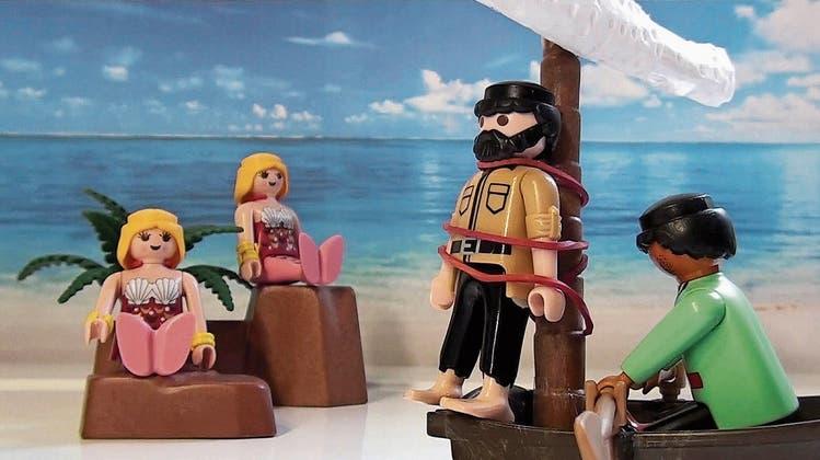 Michael Sommer stellt Weltliteraturmit Playmobil-Figuren in Youtube-Videos nach