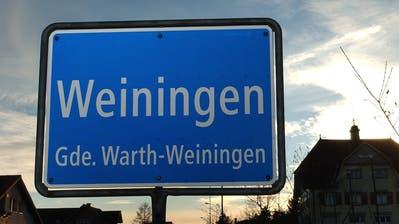 Ortseingangstafel von Weiningen. (Bild: Nana do Carmo)