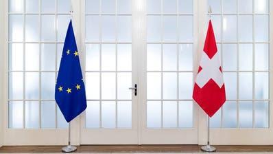 Wird das Rahmenabkommen nachverhandelt? Brüssel und Bern sind sich uneins. (Bild: Keystone)