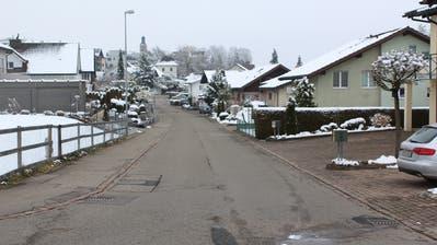 Die Lindaustrasse soll auf einer Länge von 200 Metern saniert werden. (Bild: PD)