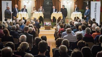 Diplomatischer, anständiger und fairer Umgang am TZ-Podium in Frauenfeld