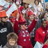 Zum internationalen Tag der psychischen Gesundheit: Die «Mad Pride» in Genf soll psychische Krankheiten entstigmatisieren