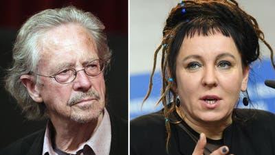 Literaturnobelpreise gehen an Peter Handke und Olga Tokarczuk