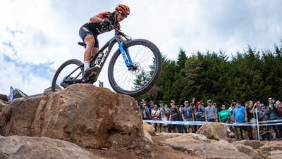 Die Wattwilerin Ramona Forchini, hier beim Weltcup in den USA hat schwierige Monate hinter sich. Nun soll es wieder aufwärts gehen. (Bild: PD)