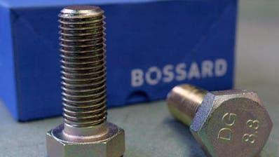 Zuger Schraubenspezialist Bossard spürt Gegenwind