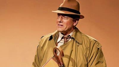 Alois Ruch ist zum 10. Mal in einer Eigenproduktion des Werdenberger Kleintheaters zu sehen. Hier im Bild wirkte er im Jahr 2012 in «Die bessere Hälfte» mit. Bild: Markus Plat